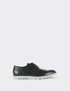 Black Captoe Brogues Shoes