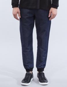 Knit Denim Pants