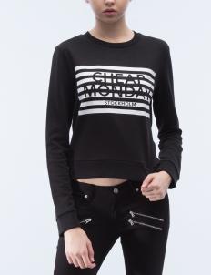 Stripe Logo Win Sweater