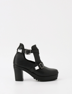 Black Aumy Ankle Boots