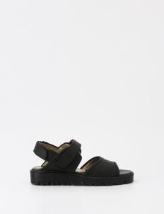 Black Eiji Sandals