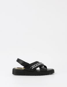 Black Amaya Sandals