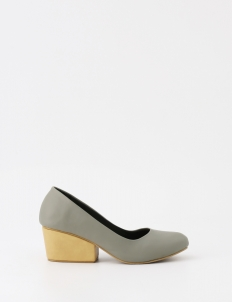 Gray Naomi Heels