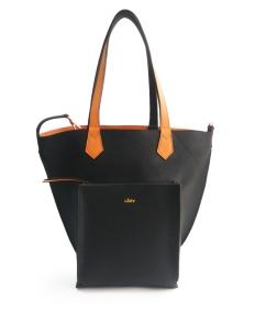 Black Orange 2Loev Maxi Bag