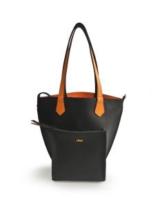 Black Orange 2Loev Midi Bag