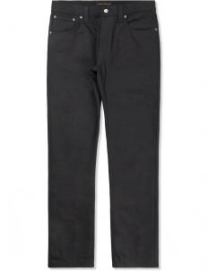 Black/Black Tight Long John Jeans