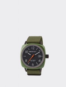 Green Army Clubmaster Classic Acetate HMS Watch