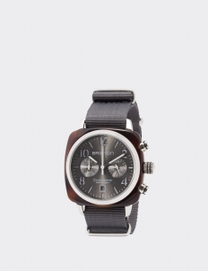 Gold Gray Clubmaster Classic Acetate Chronograph Watch