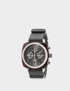 Gray Clubmaster Classic Acetate Chronograph Watch
