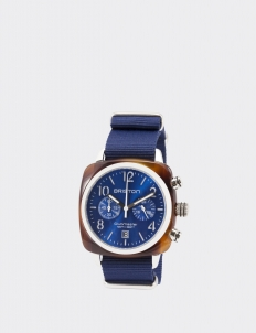 Blue Sunray Clubmaster Classic Acetate Chronograph Watch