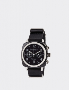 Black Clubmaster Classic Chronograph Watch
