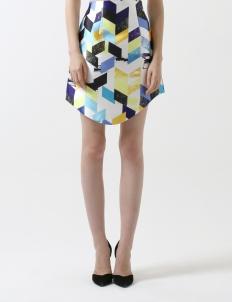 Multicolor Imaginaire Skirt