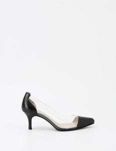 Black Cheryl Pump Heels