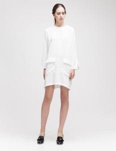 White Malika Dress