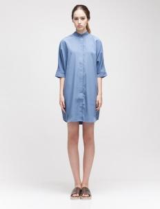 Blue Shilva Shirt Dress