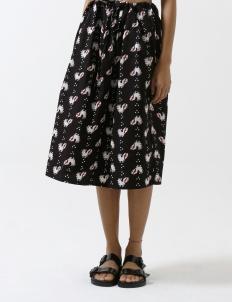 Black Sebaran Ayam Skirt