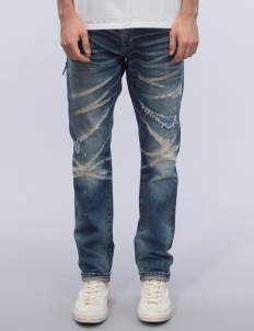 Five Years Wash Regular Straight Denim Jeans