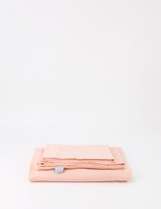 Casa Coral Peach Fitted Sheet