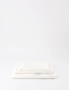 Casa Milky White Fitted Sheet