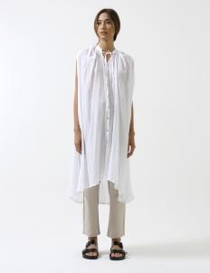 White Victorian Cape Dress