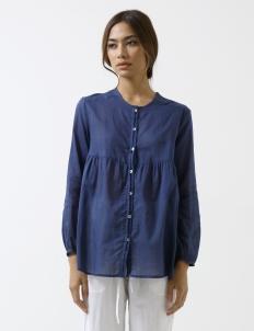 Indigo Victorian Shirt