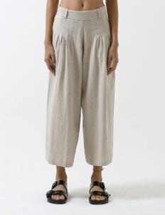 Natural Flax Market Pants