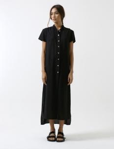 Black Side walk Shirt Dress