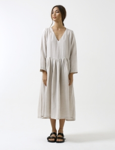 Natural Flax Nat'an Day Dress