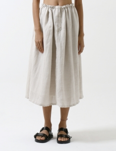 Natural Flax Recreation Skirt