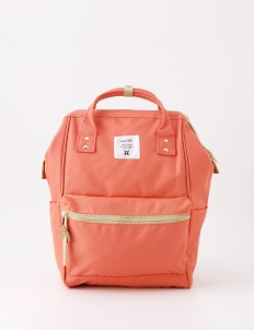 Coral Pink Oxford Backpack