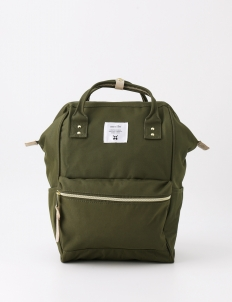 Khaki Oxford Backpack