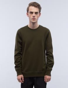 Mid Weight Terry Side Zip Sweatshirt