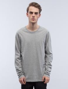 Cotton Jersey Crewneck Sweatshirt