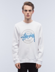 Ist Dot Applique Crewneck Sweatshirt