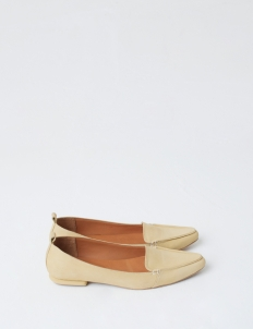 Light Yellow Hepburn Flat Shoes