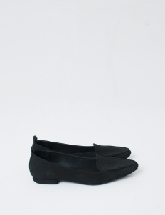 Black Hepburn Flat Shoes