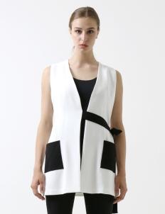 White Jacqueline Vest