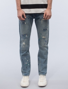 Woodie Destruction 501 Customized Tapered Jeans
