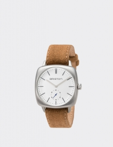 Clubmaster Vintage Steel Small Second White Dial