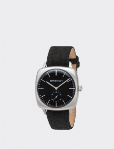 Clubmaster Vintage Steel Small Second Black Dial