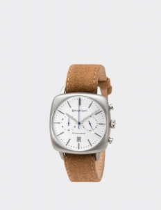 Clubmaster Vintage Steel Chronograph White Dial