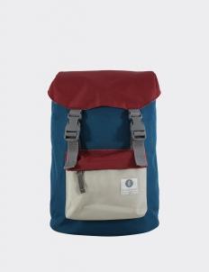 Blue & Maroon Hook Backpack