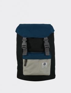 Cavier Blue & Light Gray Hook Backpack