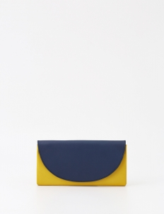 Yellow & Navy Fitev Wallet