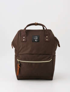Brown Oxford Backpack