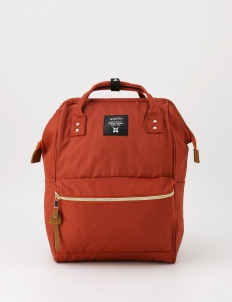 Dark Orange Oxford Backpack