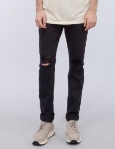 Essentail Knee Split Denim Jeans