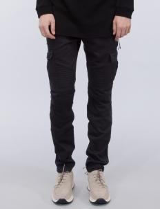 Cargo Zip Moto Denim Jeans