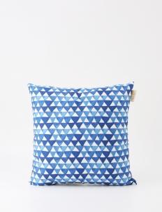 Prismatic Blue Pillow
