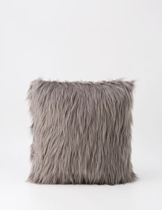 Silver Fur Cushion